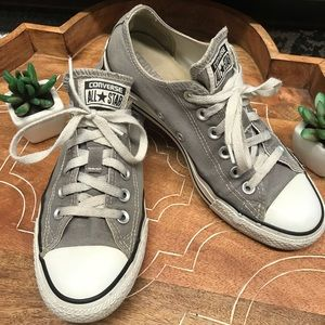 👟Converse Chuck T's Gray Size 8
